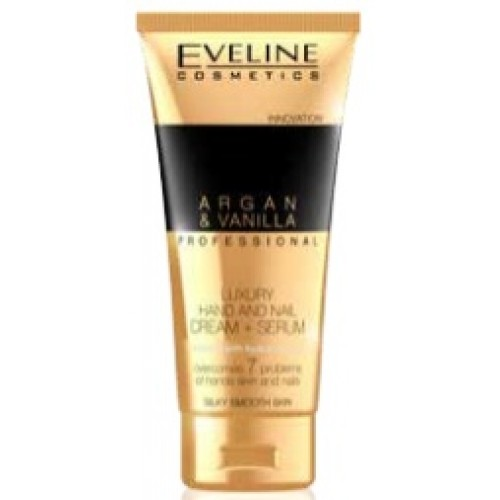 EVELINE -HAND AND NAIL CREAM WITH  ARGAN & VANILLA PROFESSIONAL 100ML