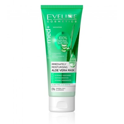 EVELINE -- FACEMED+ IMMEDIATELY MOISTURISING ALOE VERA MASK