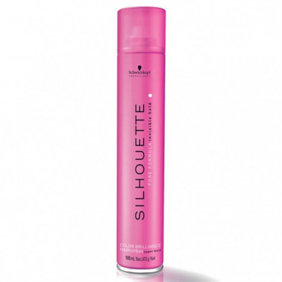 SILHOUETTE  COLOR BRILLIANCE  HAIRSPRAY  SUPER HOLD  500ml